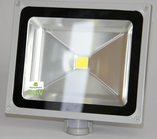 Led Flood Light 50w With Pir Motion Sensor And Day Night