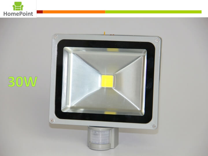 Led Flood Light 30w With Pir Motion Sensor And Day Night