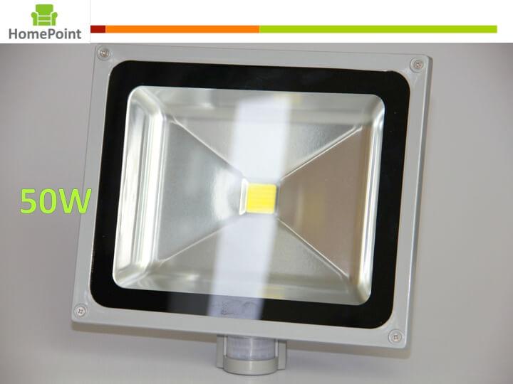 LED Flood light with motion sensor and day night sensor